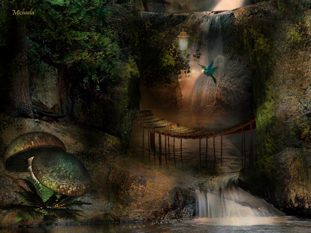 Fairy Land Moon Graphics